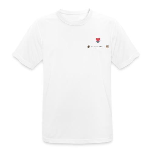#frankrosinliebtuns - Männer T-Shirt atmungsaktiv