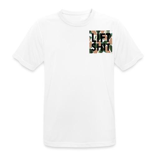 geometrical lift shit - Männer T-Shirt atmungsaktiv