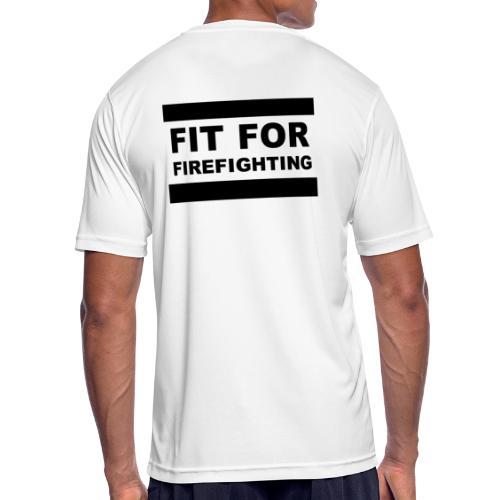 FitForFirefighting - Männer T-Shirt atmungsaktiv