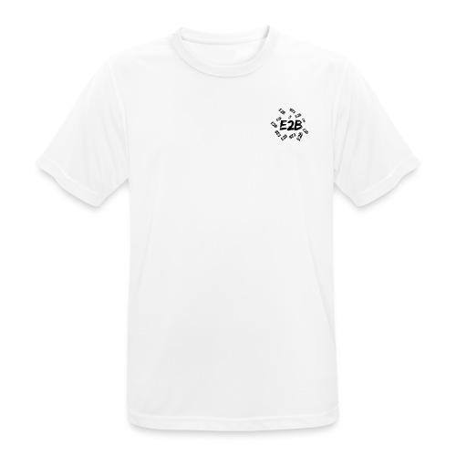 E2B69 - Pustende T-skjorte for menn