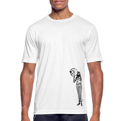 Punto di vista in bianco e nero - Maglietta da uomo traspirante