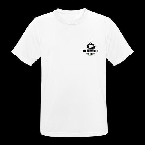 Untraveled Road Logo - black/small - Männer T-Shirt atmungsaktiv