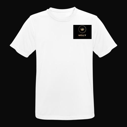 MOLLY - Herre T-shirt svedtransporterende