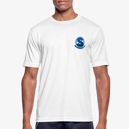 Shadowspear18 Logo+Schrift - Männer T-Shirt atmungsaktiv