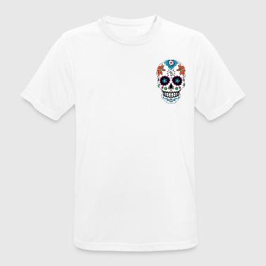 Camicia blu Taco Copenhagen - Maglietta da uomo traspirante