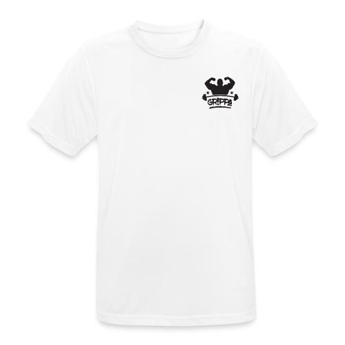 grippa full black png - Men's Breathable T-Shirt