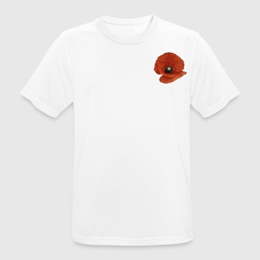 A Poppy Flower - Men's Breathable T-Shirt