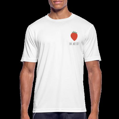 StrawBerry - Männer T-Shirt atmungsaktiv