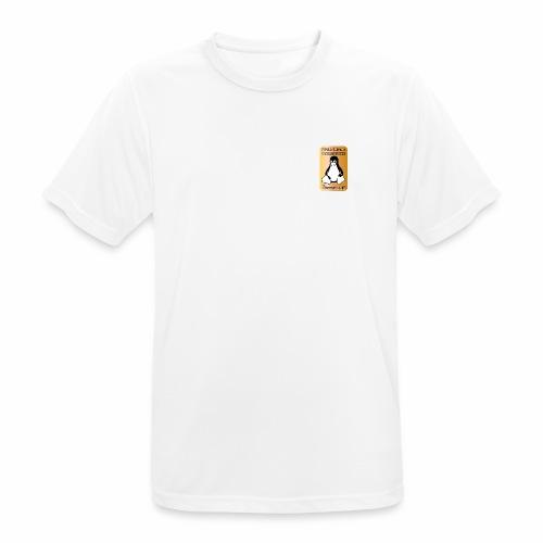 GNU/Linux Powered by FermoLUG - Maglietta da uomo traspirante