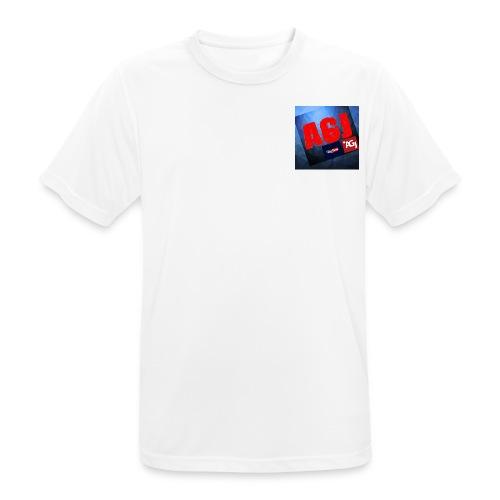 AGJ Nieuw logo design - Mannen T-shirt ademend actief