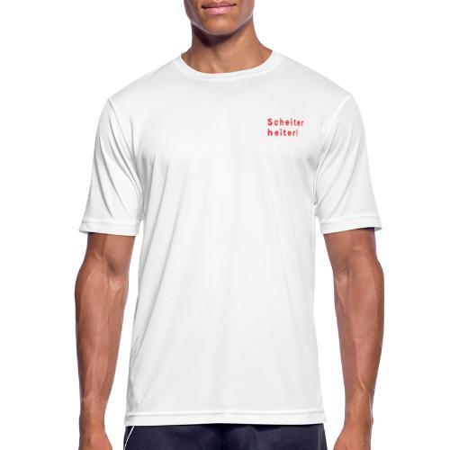 Improtheater Konstanz Print 1 - Männer T-Shirt atmungsaktiv