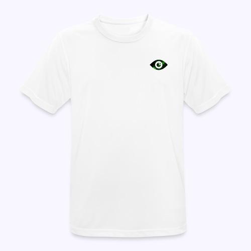 Occhio del destino verde - Maglietta da uomo traspirante