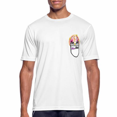 Nina Nice Pocket - Männer T-Shirt atmungsaktiv