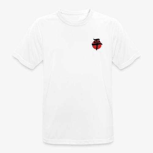 paz letra japonesa - Camiseta hombre transpirable