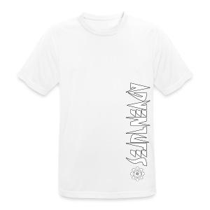 Jebus Adventures Vertical Stripe - Men's Breathable T-Shirt