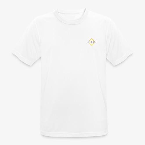 LuckystRaute Kopie - Männer T-Shirt atmungsaktiv