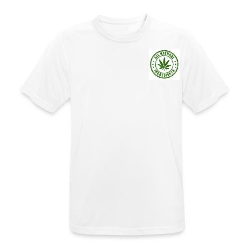 Weed - mannen T-shirt ademend