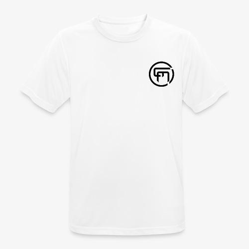 Chris Mitchell Black Logo - Men's Breathable T-Shirt