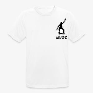 skate - mannen T-shirt ademend