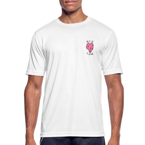 ACIDE LOVE DESIGN - T-shirt respirant Homme