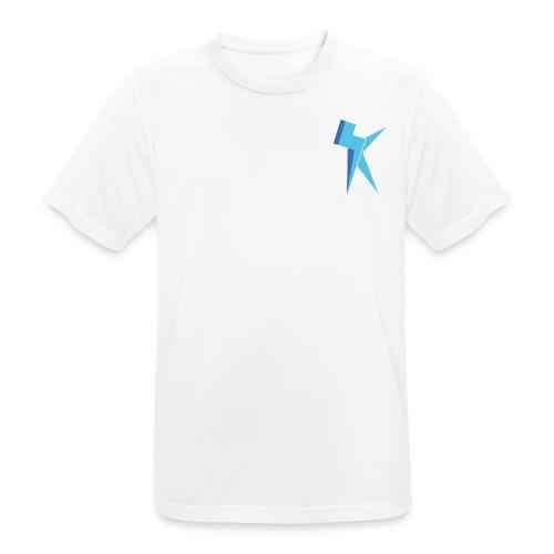 K Vlogs Logo - mannen T-shirt ademend