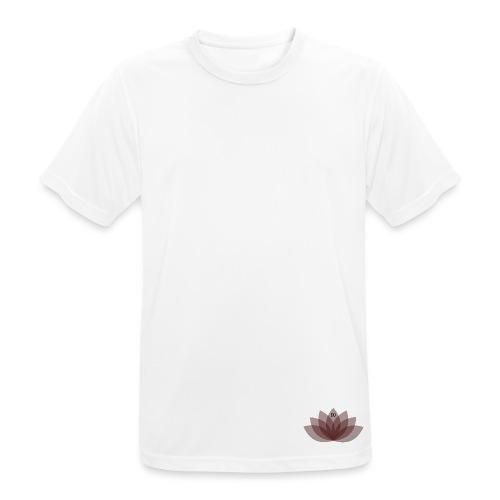 #DOEJEDING Lotus - Mannen T-shirt ademend actief