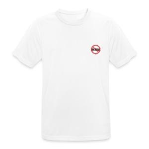 Gegen Rauchverbot Logo - Männer T-Shirt atmungsaktiv