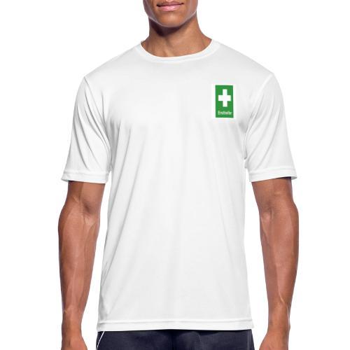 Erst Helfer - Männer T-Shirt atmungsaktiv