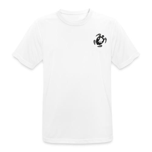 Logo without black transparent - Männer T-Shirt atmungsaktiv