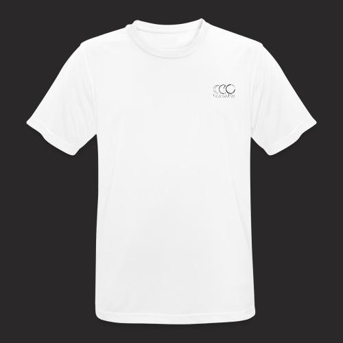 Triple lune dessin - Face cachée - T-shirt respirant Homme