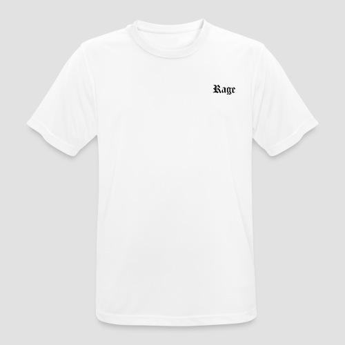 Rage London - Maglietta da uomo traspirante
