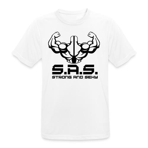 back png - Mannen T-shirt ademend