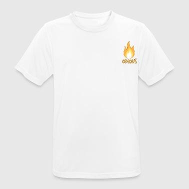 frastødende flamme Skitseret - Herre T-shirt svedtransporterende