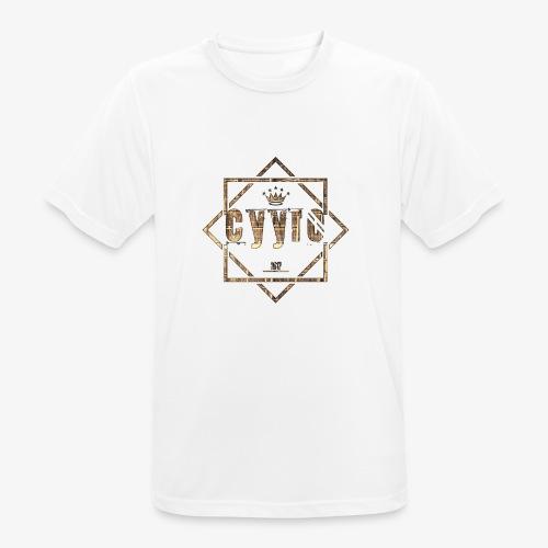 Cyyro Official Logo GOLD - Männer T-Shirt atmungsaktiv