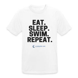 EAT. SLEEP. SWIM. REPEAT. - Men's Breathable T-Shirt