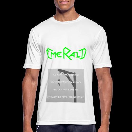 Emerald - Männer T-Shirt atmungsaktiv