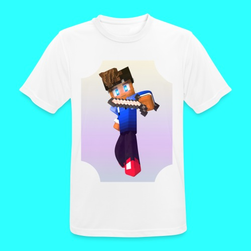Mit Skin - Männer T-Shirt atmungsaktiv