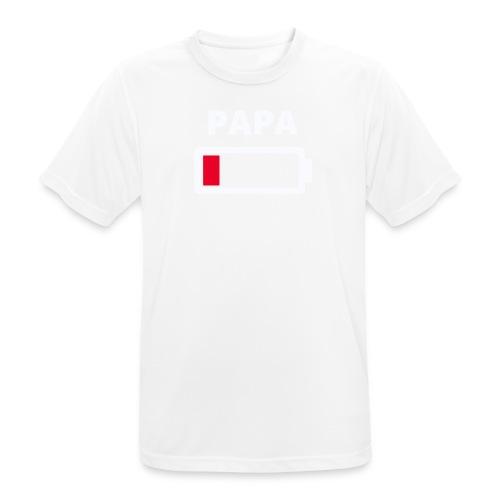 Papa - Männer T-Shirt atmungsaktiv
