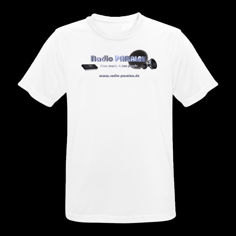 Radio PARALAX Facebook-Logo mit Webadresse - Männer T-Shirt atmungsaktiv