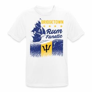 T-shirt Rum Fanatic - Bridgetown - Barbados - Koszulka męska oddychająca