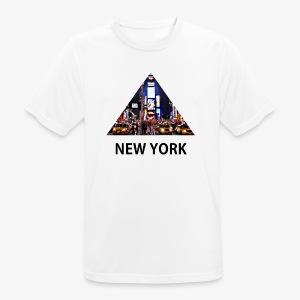 Triangle sur New York - T-shirt respirant Homme