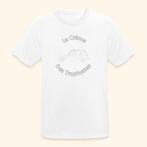 La Crème Des Trophystes - Modèle Berline Blanc - T-shirt respirant Homme