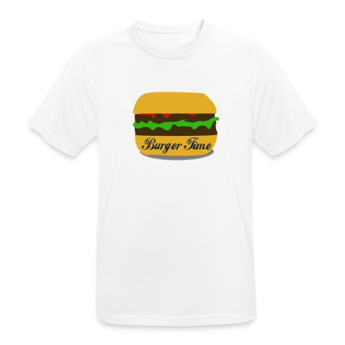 Burger Time - T-shirt respirant Homme