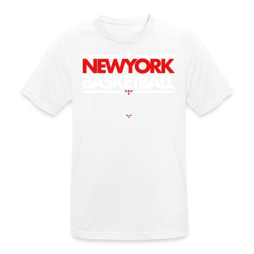 Horikima NY Basketball Men's T-Shirt - Männer T-Shirt atmungsaktiv