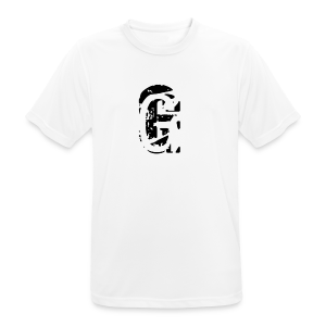 G Collection - Pustende T-skjorte for menn