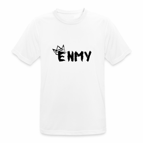 Enmy Grey Sweatshirt - Men's Breathable T-Shirt