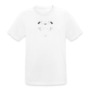 Lion Collection - Pustende T-skjorte for menn