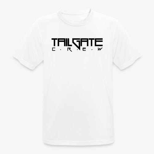 Tailgate svart - Pustende T-skjorte for menn
