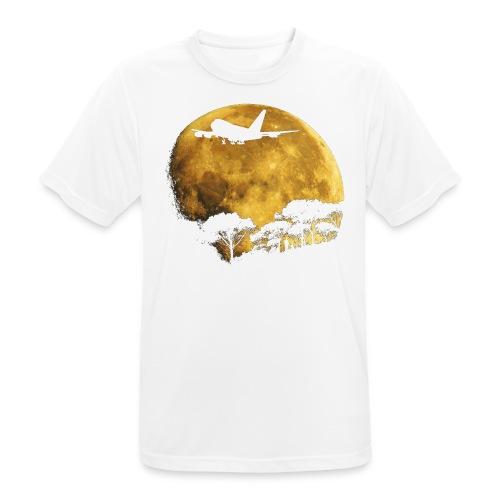 full moon - Men's Breathable T-Shirt