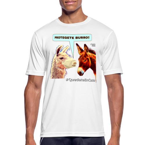 PROTEGETE BURRO - Men's Breathable T-Shirt